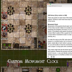 Stealth DnD adventure on Roll20