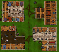 Building Complex rpg map