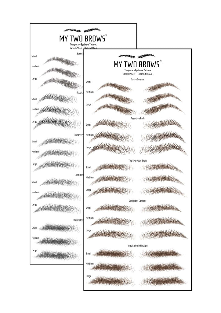 All Brows Sample Pack My Two Brows