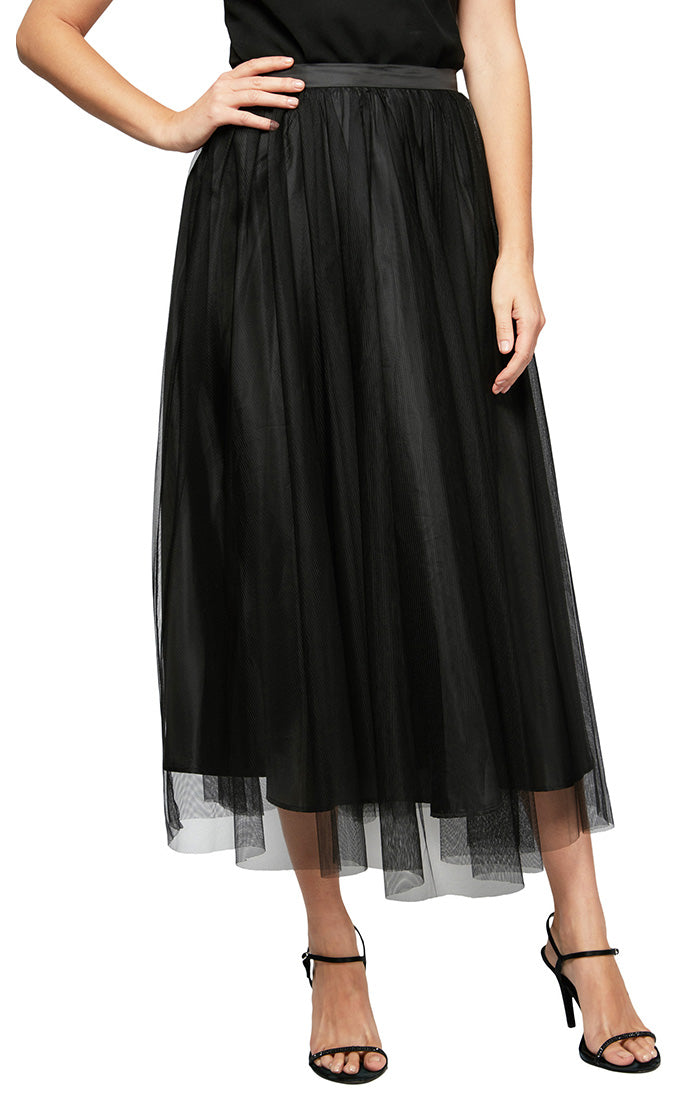Tulle Tea-Length Party Skirt
