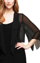 Load image into Gallery viewer, Chiffon Cover-up with Cascade Detail