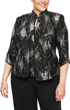 Load image into Gallery viewer, Firework Sequin Twinset with Mandarin Neck Jacket