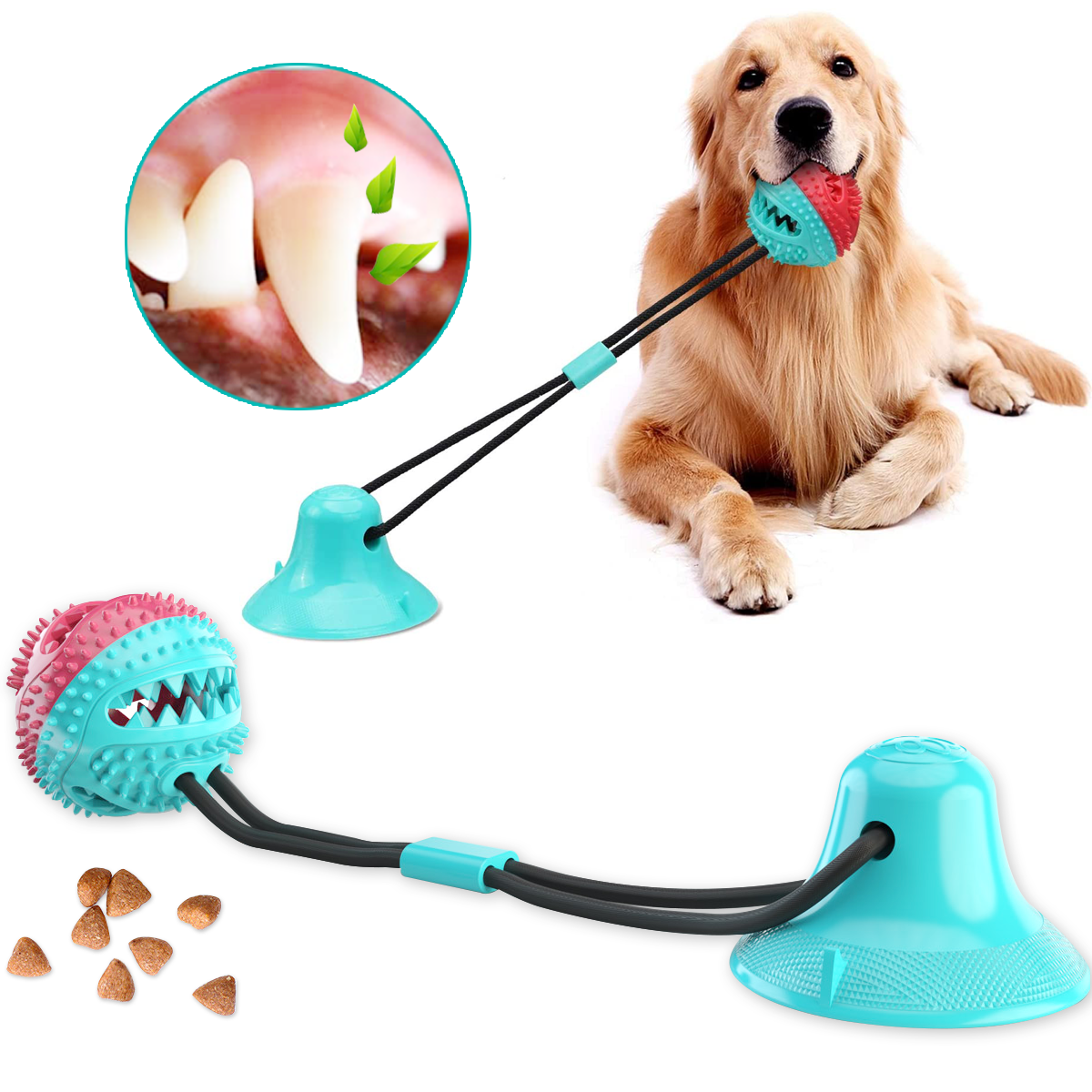 50% OFF Today- Dog Toy Ball