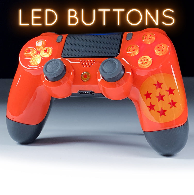 PS4 Elite Dragonball Z LED Controller