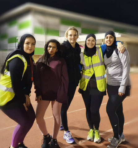 University of East London Track Session with Jog On