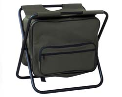 Kaufmann Fisherman Green Chair with Cooler
