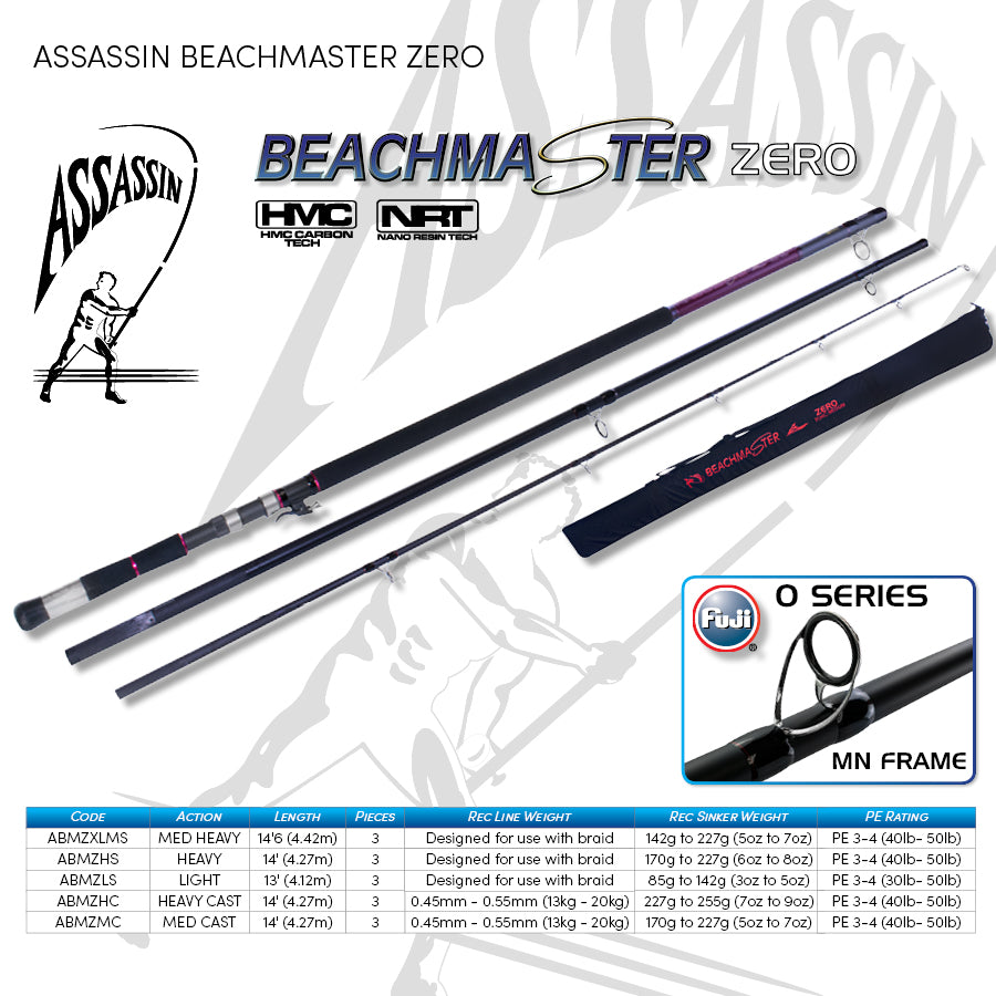 Assassin Beachmaster Zero 14' Cast