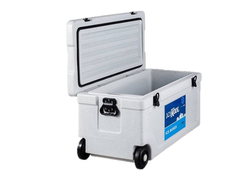 Evakool Icekool 80Litre Cooler Box with Wheels - color Blue