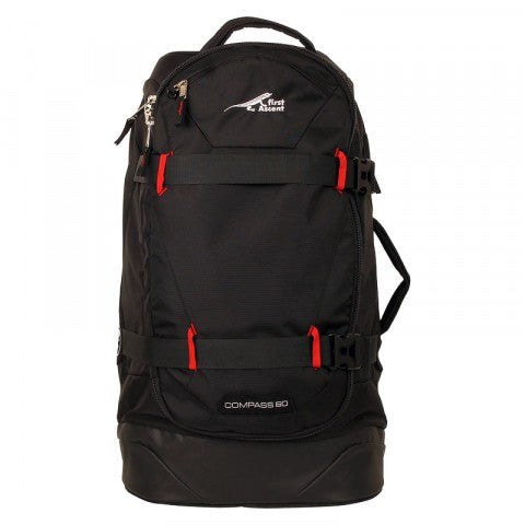 first ascent compass 60l trolley bag