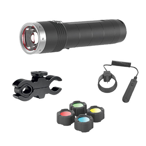 MT10 – Rechargeable Torch + Accessories