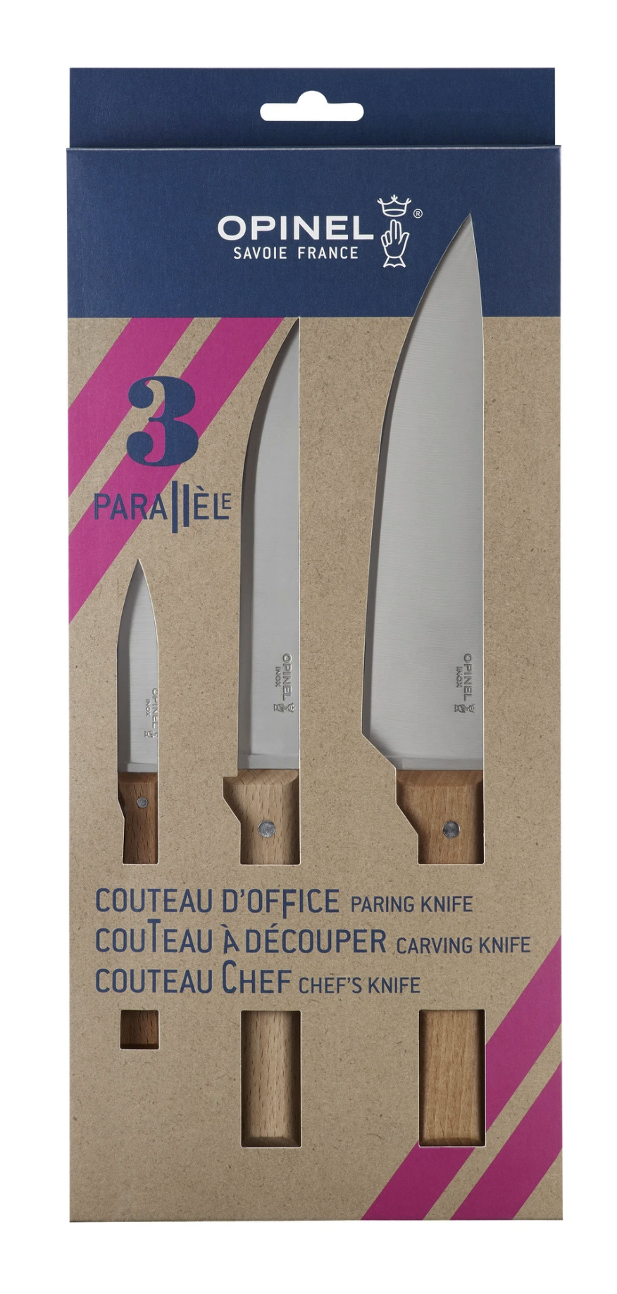 OPINEL | TRIO CHEF SET