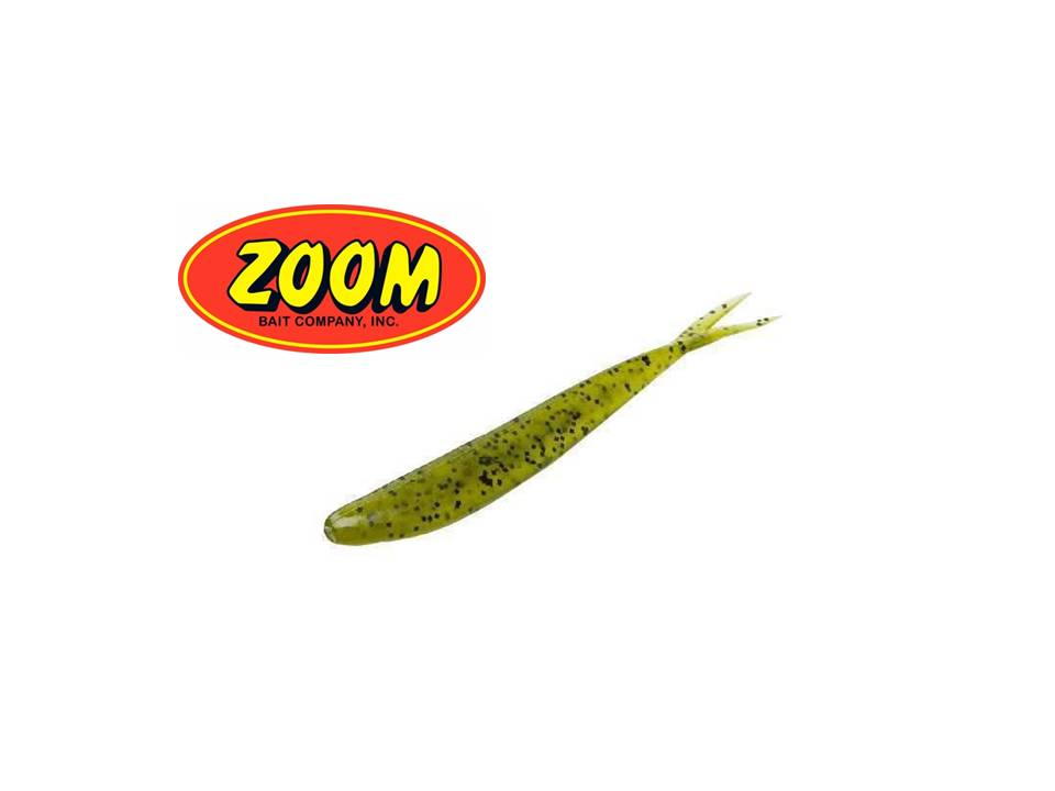 Zoom Fluke Watermelon Seed - 10PK