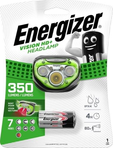 Energizer Vision HD+ 350 Lumen Headlamp