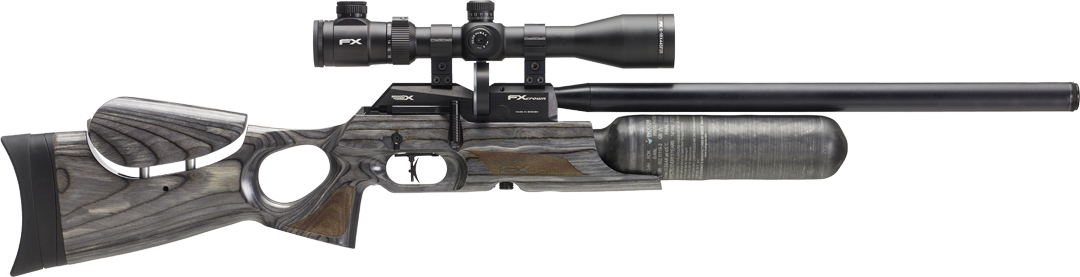 FX Crown .22 Laminate Black Pepper Pcp Rifle