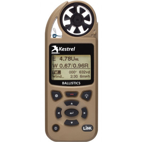 Kestrel 5700 Ballistics Weather Meter with LiNK - Tan