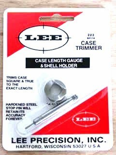 Lee Case Length Gauge and Shellholder
