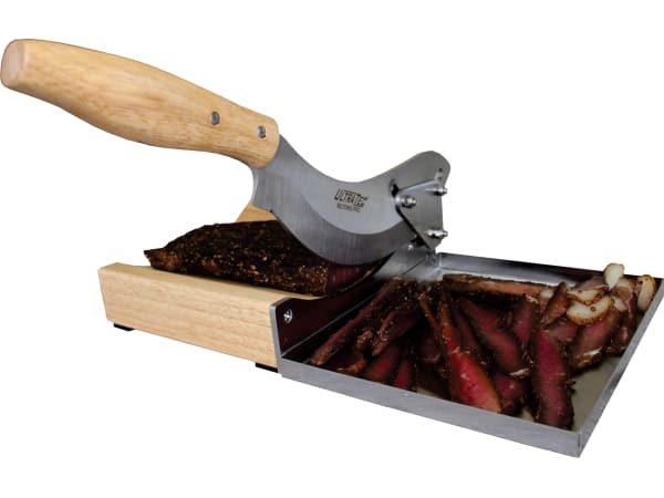 Tekut Pro Radiused Biltong Cutter With Tray