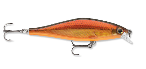 Rapala Shadow Rap Shad. Molten Copper
