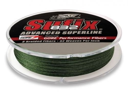 Sufix 832 - 300YDS / Low Vis Green / 20LB
