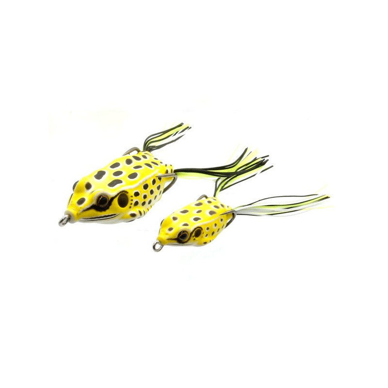 Sensation Hollow Frog Large YELLOW FROG 14g 5.5 cm