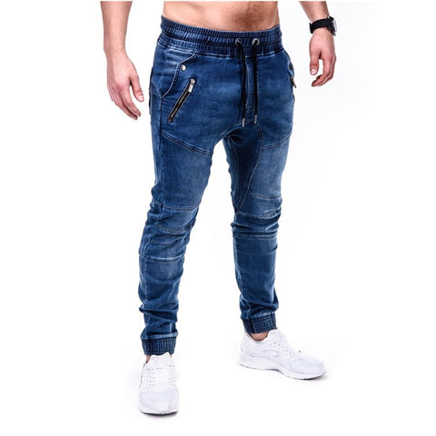jeans blue and grey  slim pants