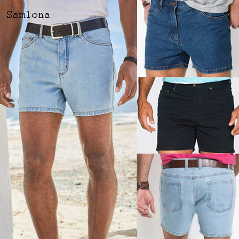Samlona Summer New Western Fashion Shorts