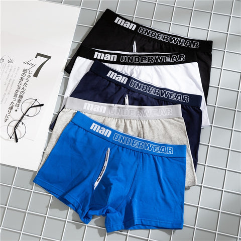 Boxer Mens Underwear Men Cotton