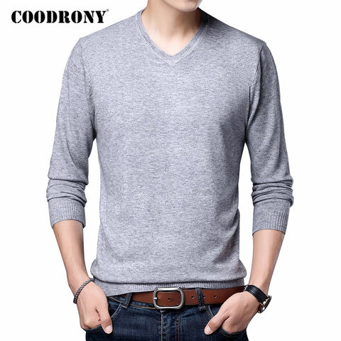 COODRONY Brand Sweater Men Clothing Sweater Pullover