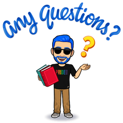 frequently asked questions - any questions bitmoji