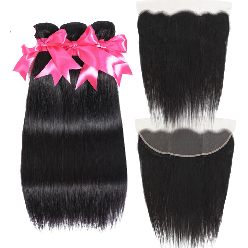 miss Straight Hair With Frontal Bundles (Pre-Ordered ONLY ONLINE )