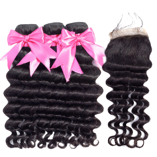 SLEEK Deep Wave Bundle Deals+Closure