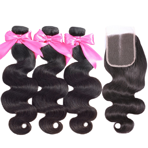 Body Wave Bundle Deals+Closure