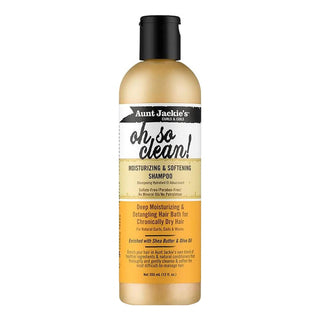 AUNT JACKIE'S Oh So Clean Moisturizing & Softening Shampoo (12oz)