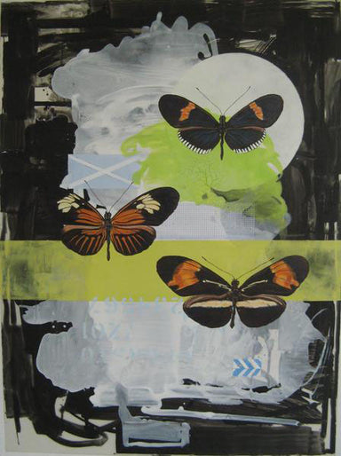 Three Postman Butterfly by Mary Lottridge