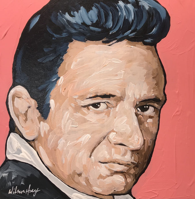 Johnny Cash by Timothy Wilson Hoey