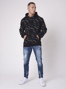 HOODIE PRINT LOGO ALL OVER