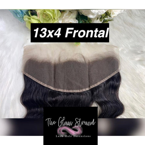 GLAM Standard Swiss 13x4 Lace Frontal