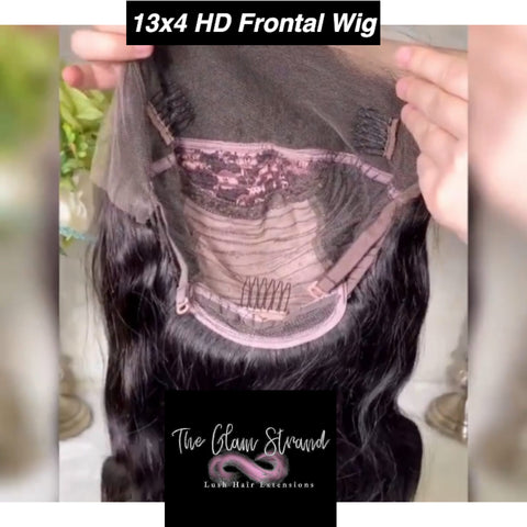 GLAM HD 13×4 Lace Frontal Wigs