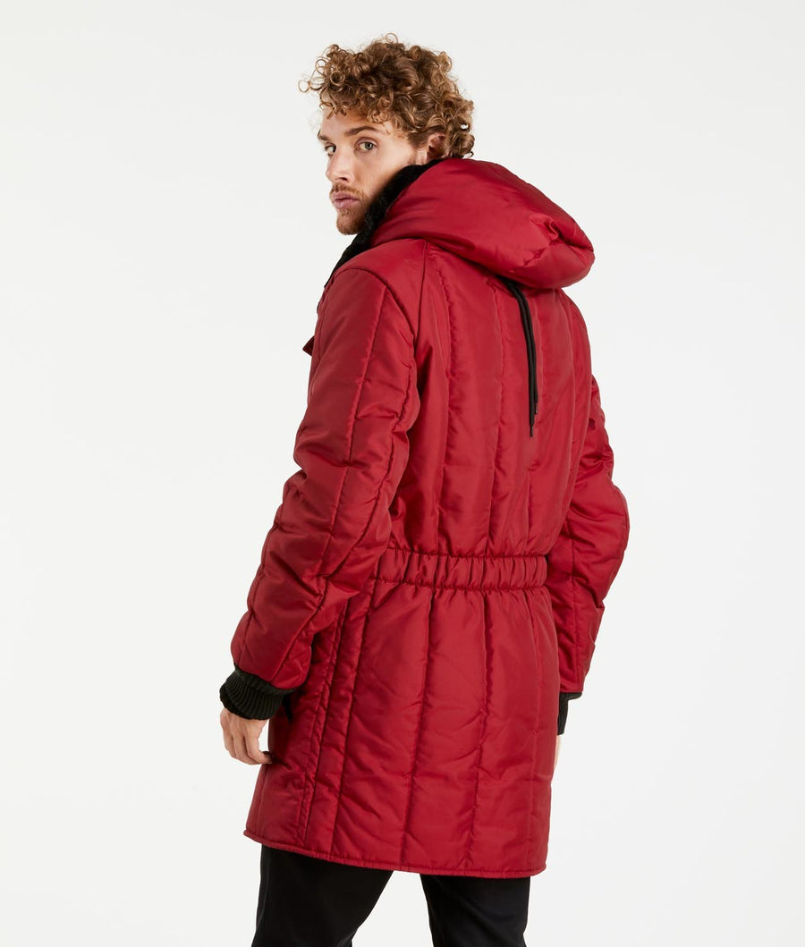 parka red