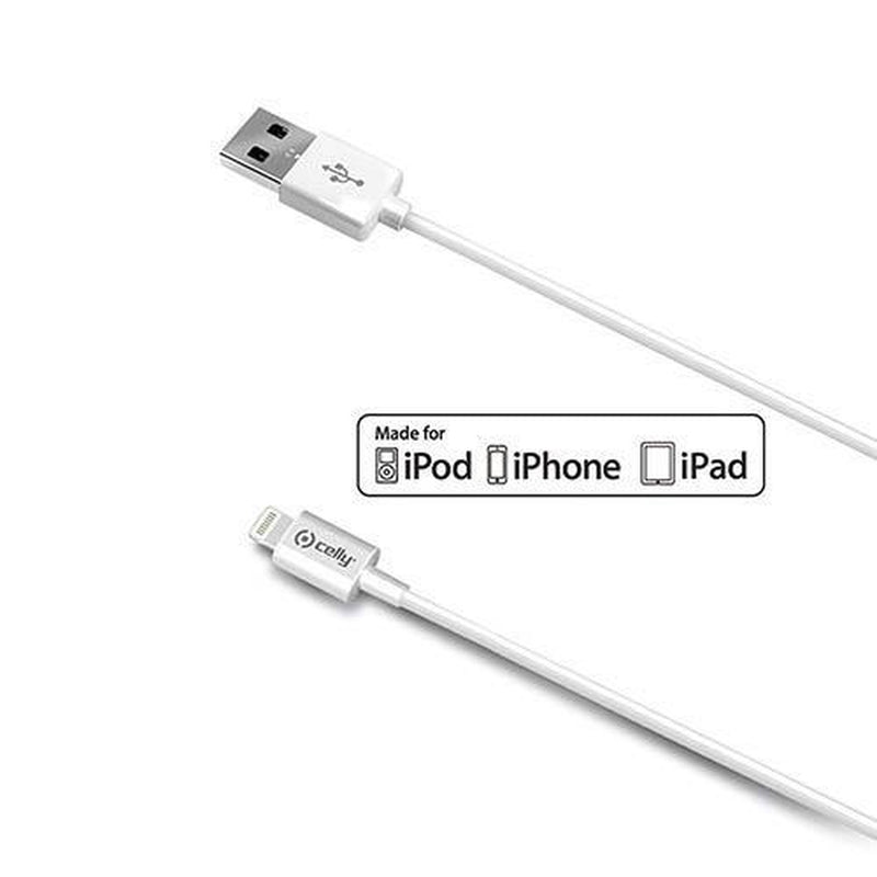 Apple USB Kabel Naar Lightning - 2 Meter Wit - Phonely