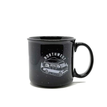 NWTD Adventure Van Ceramic Coffee Mug NW Till Death