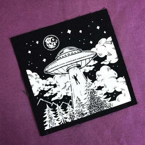 Alien Abduction · Canvas Patch