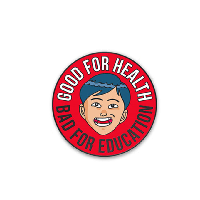 For Your Health • Enamel Pin