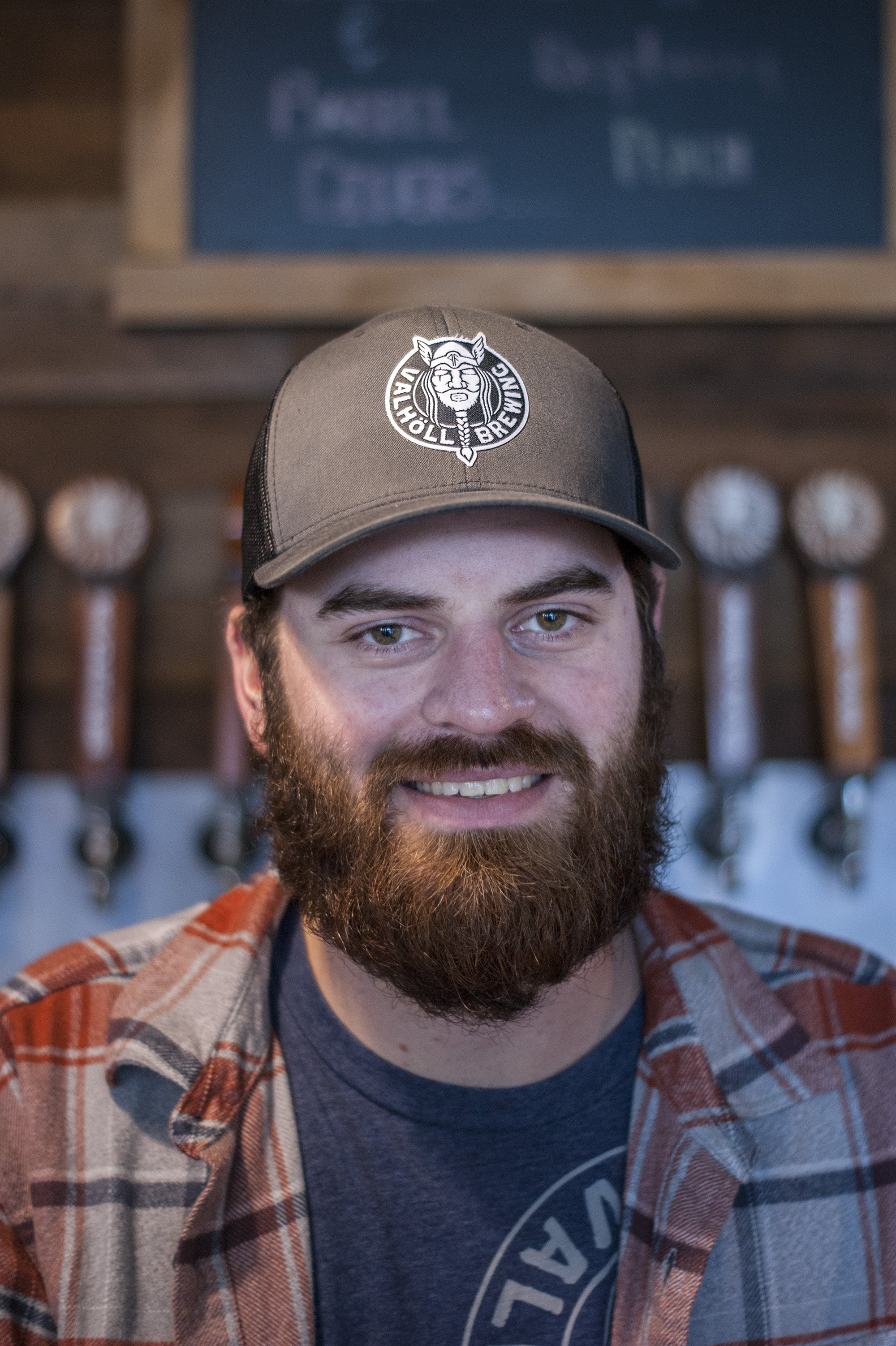 Valholl Brewing • Char/Black Trucker Hat