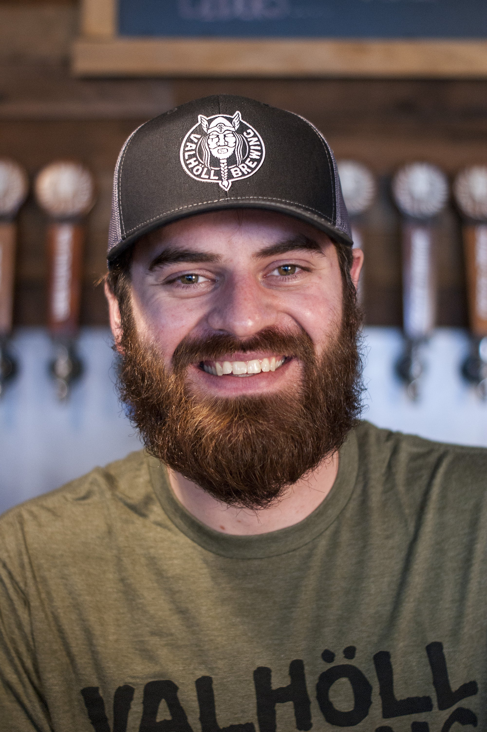Valholl Brewing – Black/Char. Trucker Hat