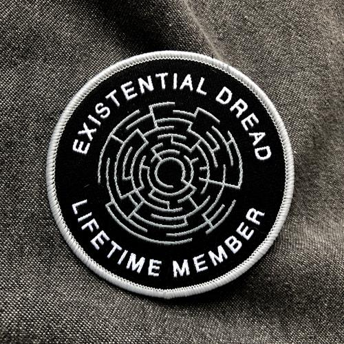 Existential Dread · Iron-on Patch