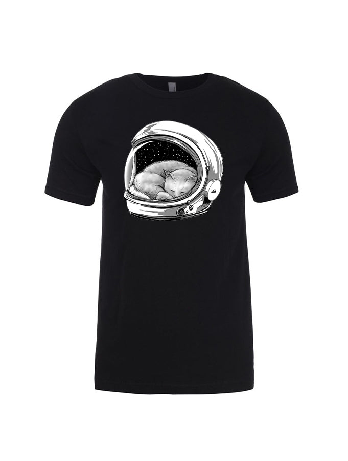 Astronaut Kitty Barry Blankenship Dukes Tee