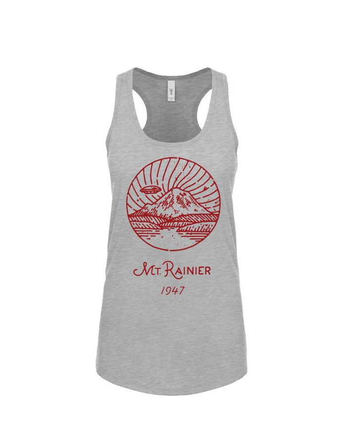 Mt. Rainier Derek Nobbs Ladies Tank