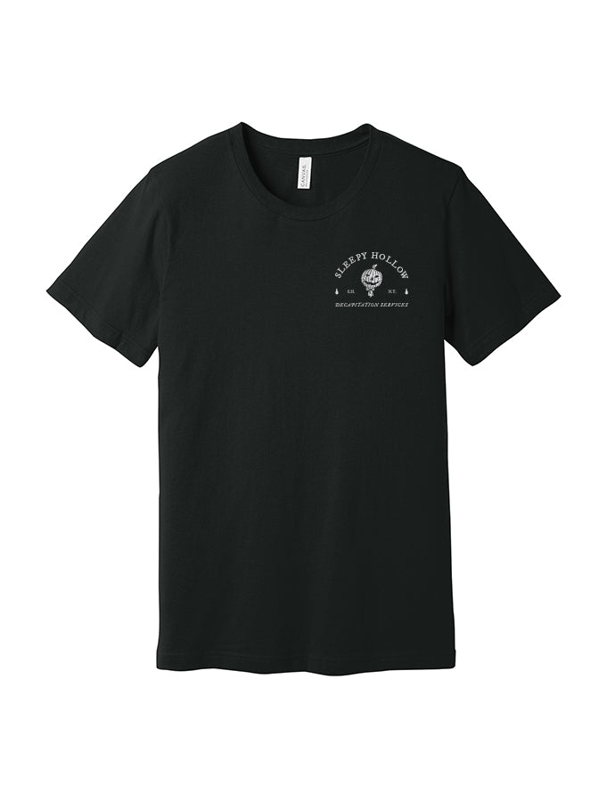 Sleepy Hollow Decapitation Services Derek Nobbs Tee