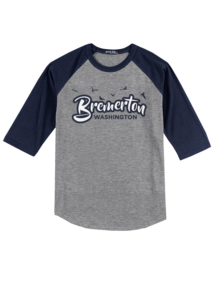 Bremerton Washington Jason Welter Baseball Tee